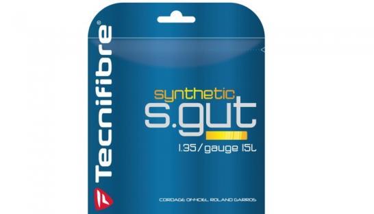 Tenisové výplety Tecnifibre - Synthetic Gut Pearl