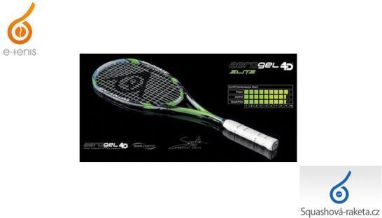 Squashové rakety Dunlop - Aerogel 4D Elite