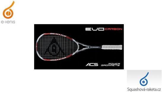 Squashové rakety Dunlop - Evo Carbon