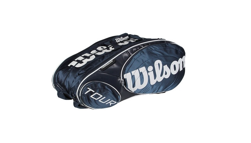 Tenisové tašky Wilson - Wilson - Wilson Tour 15 Bag Blue - Tenisové ... 0c5a391950