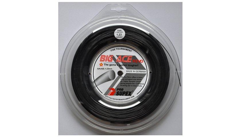 Tenisové výplety - Pro Supex Big Ace Revo Black 1,30